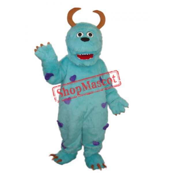 2nd Version of Sulley Monster Inc Mascot Adult Costume Free Shipping