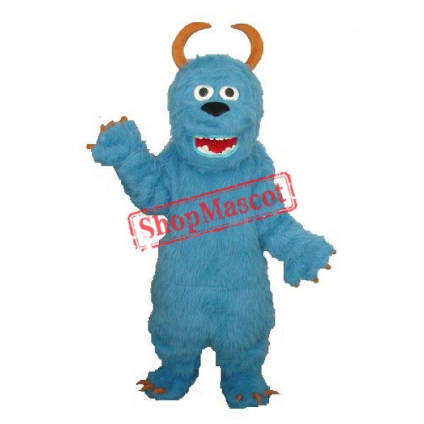 Blue Sulley Monster Inc Mascot Adult Costume Free Shipping