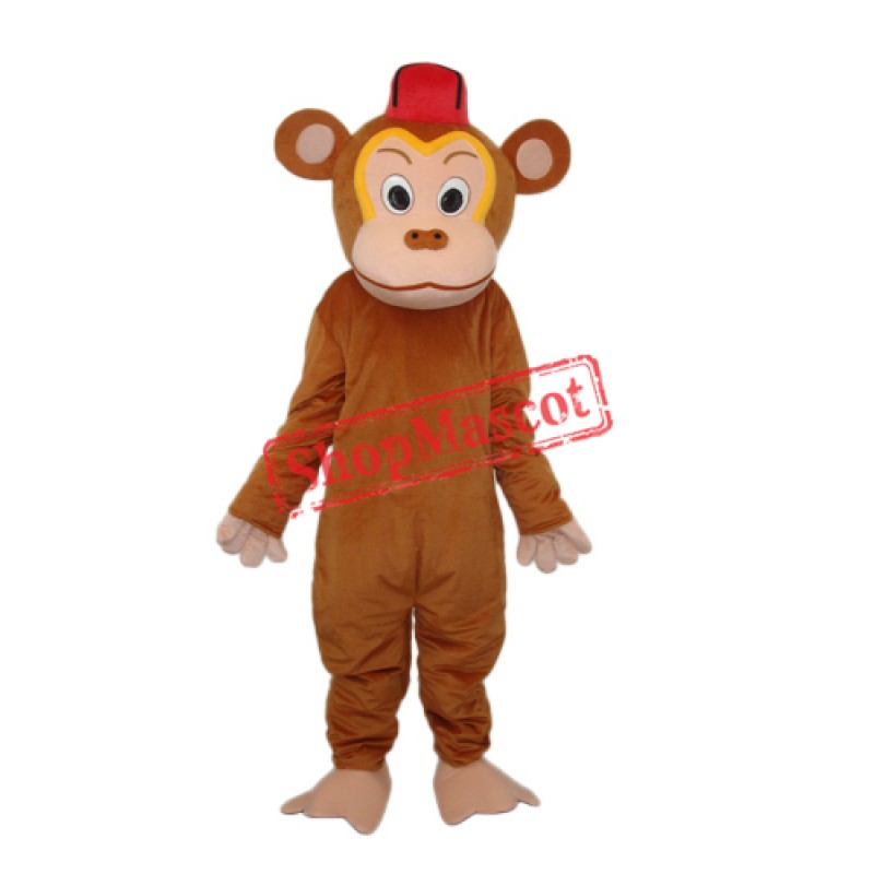 Clown Monkey (Without Vest) Mascot Adult Costume Free Shipping