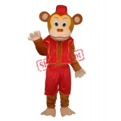 Clown Monkey Mascot Adult Costume Free Shipping
