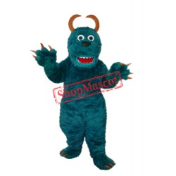 Dark Green Sulley Monster Inc Mascot Adult Costume Free Shipping