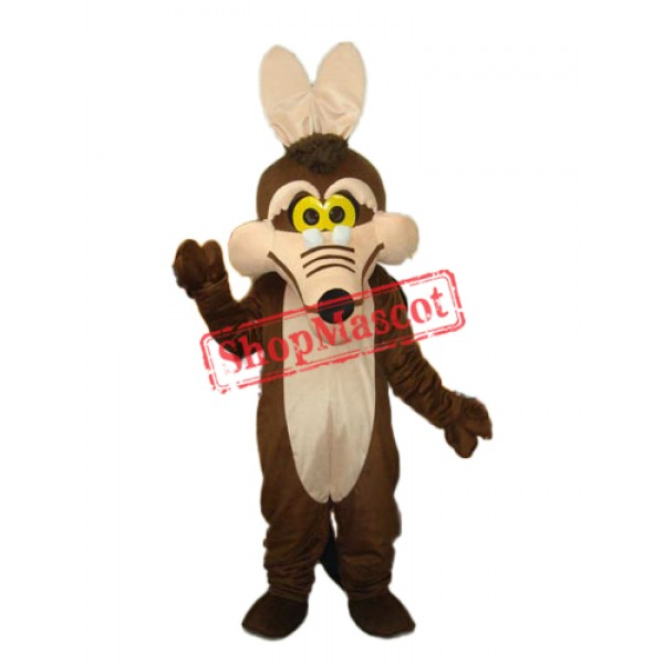 Brown Fox Mascot Adult Costume Free Shipping