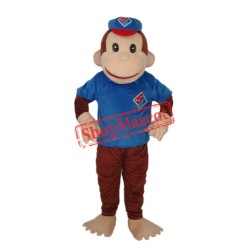 Lucky Monkey Mascot Adult Costume Free Shipping