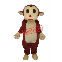 Mr.Jump Monkey Mascot Adult Costume Free Shipping
