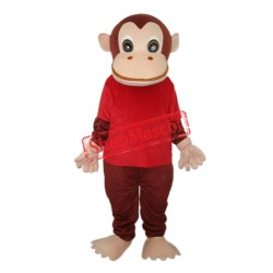 Red Vest Gorilla Mascot Adult Costume Free Shipping