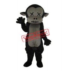 Revised Mr.Jump Monkey Mascot Adult Costume Free Shipping
