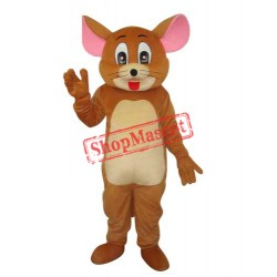 2nd Version Jerry Rat Mascot Adult Costume Free Shipping