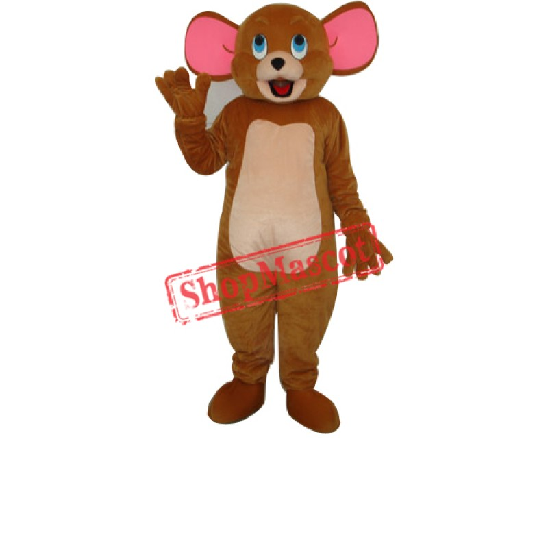 Jerry Mouse Mascot Adult Costume Free Shipping