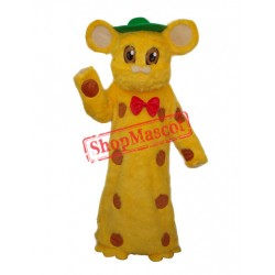 Kuhn Mouse Plush Mascot Adult Costume Free Shipping