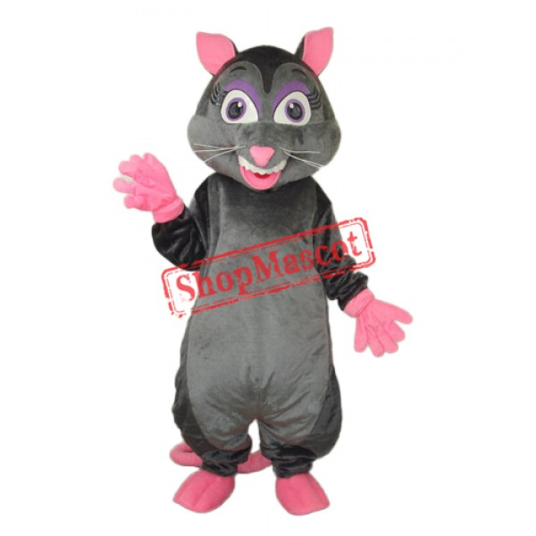Revised Long Wool Vole Mascot Adult Costume Free Shipping