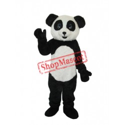 2nd Version Plush Panda Adult Mascot Costume Free Shipping
