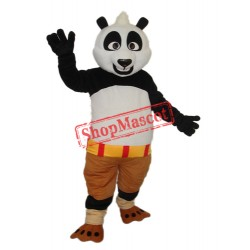 3rd Version Kung Fu Panda Mascot Adult Costume Free Shipping