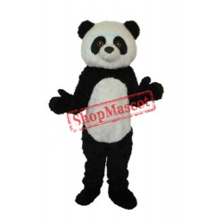 4th Version Panda Plush Mascot Adult Costume Free Shipping