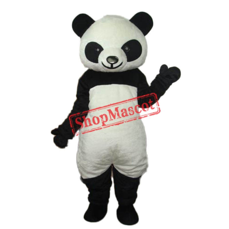 9th Version of The Giant Panda Mascot Adult Costume Free Shipping