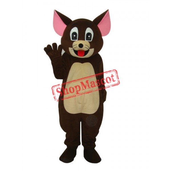 Brown Jerry Rat Mascot Adult Costume Free Shipping