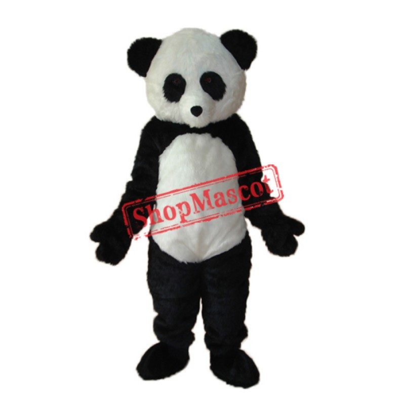 sc 1 st  ShopMascot.com & Long Wool giant Panda Mascot Adult Costume Free Shipping
