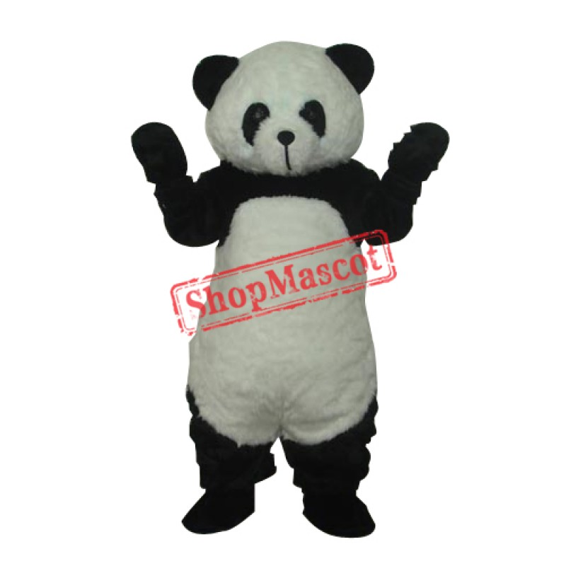 Panda Plush Mascot Adult Costume Free Shipping
