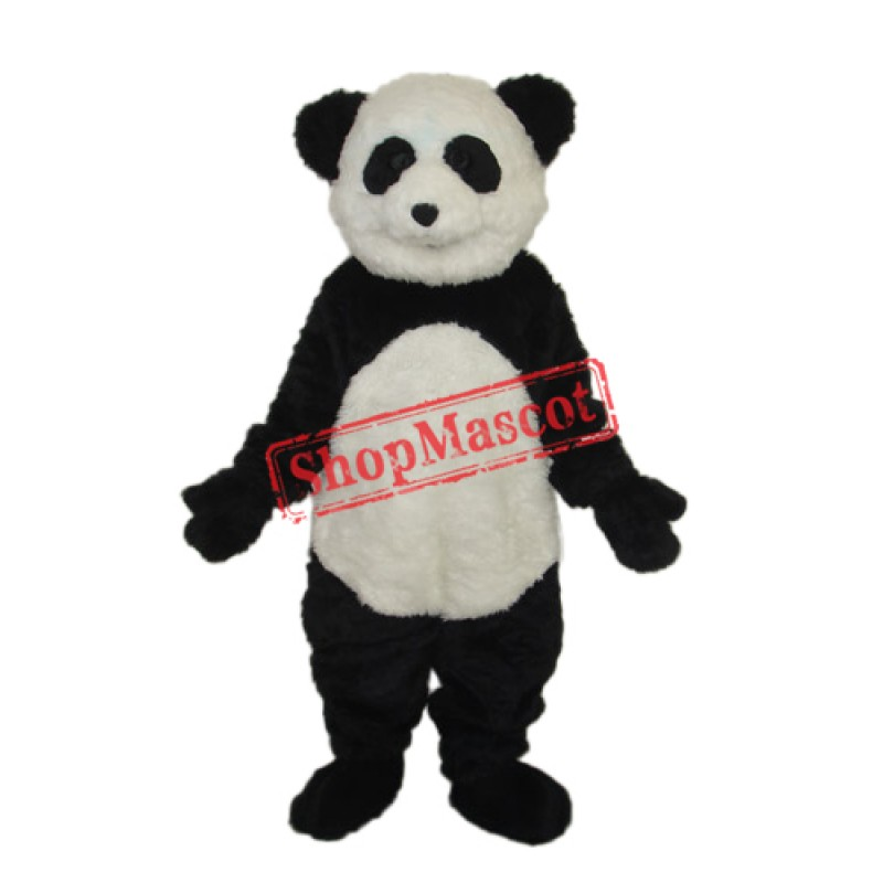 Smile Panda Mascot Adult Costume Free Shipping