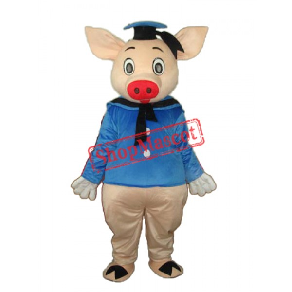 Dr.Pig Mascot Adult Costume Free Shipping