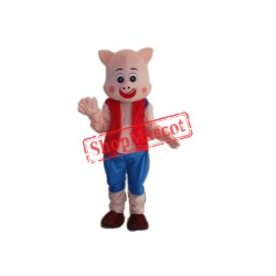 Little Pig Mascot Adult Costume Free Shipping