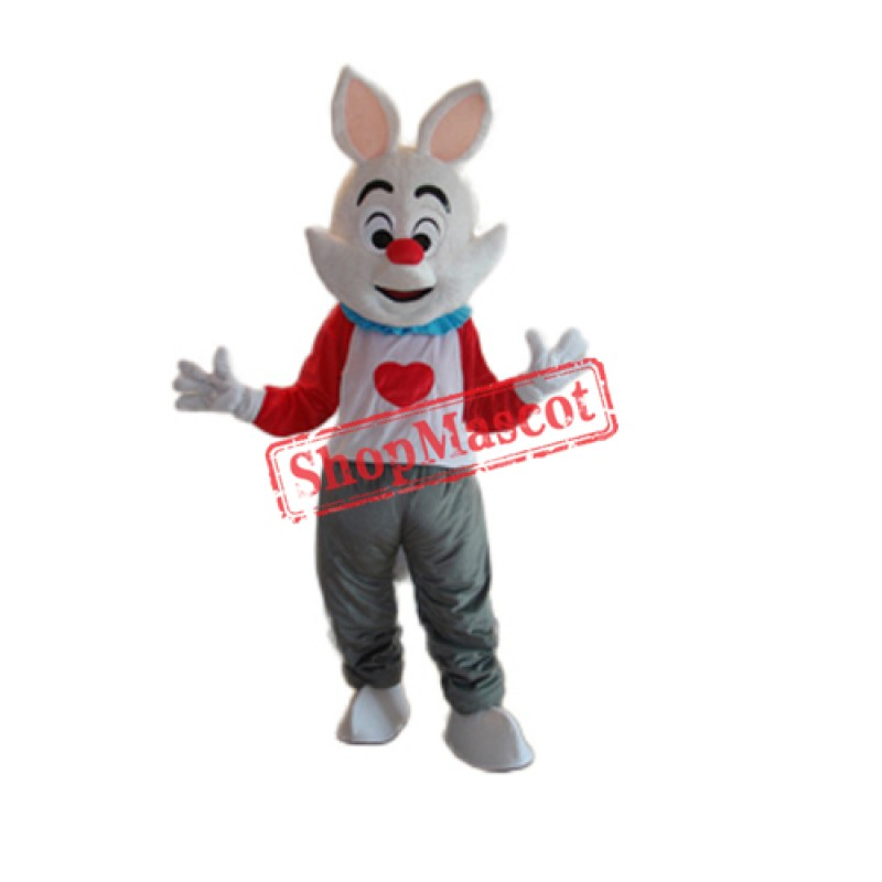 Dada Rabbit Mascot Adult Costume Free Shipping