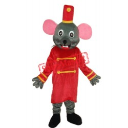 Etiquette Rat Mascot Adult Costume Free Shipping