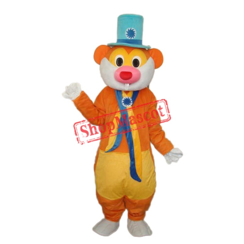 Hat Rat Mascot Adult Costume Free Shipping
