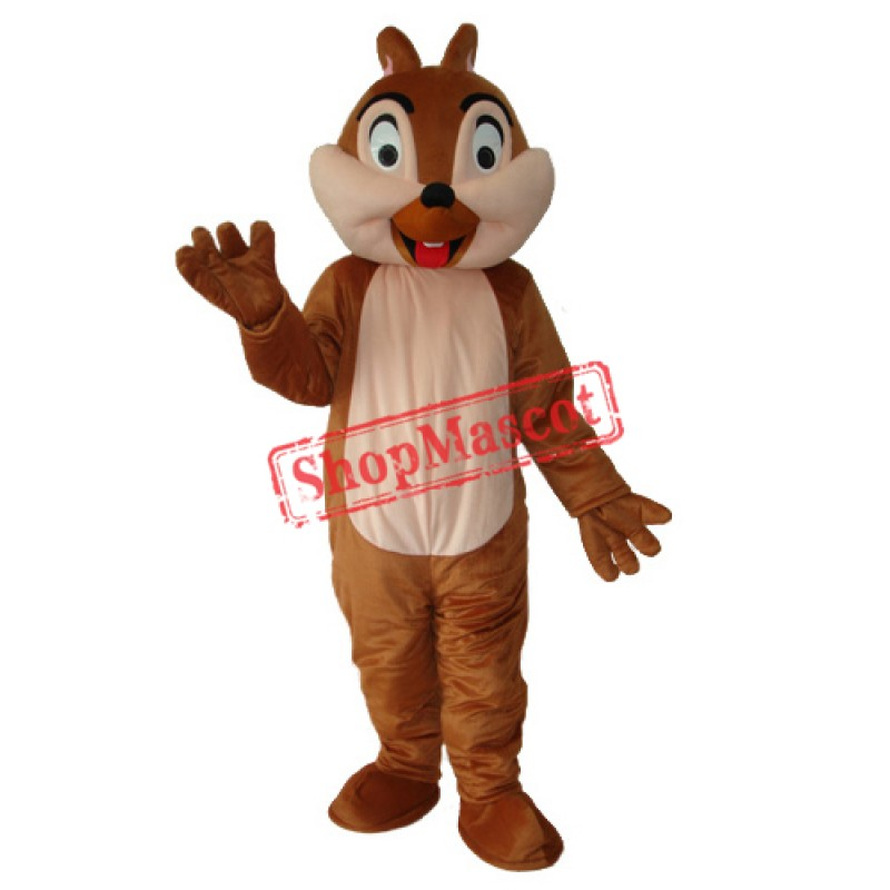 Squirrel Plush Adult Mascot Costume Free Shipping