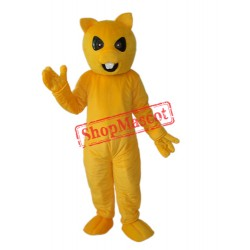 Yellow Squirrel Mascot Adult Costume Free Shipping