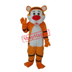 Good Tiger Adult Mascot Costume Free Shipping