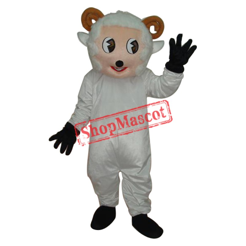 Little Sheep Mascot Adult Costume Free Shipping
