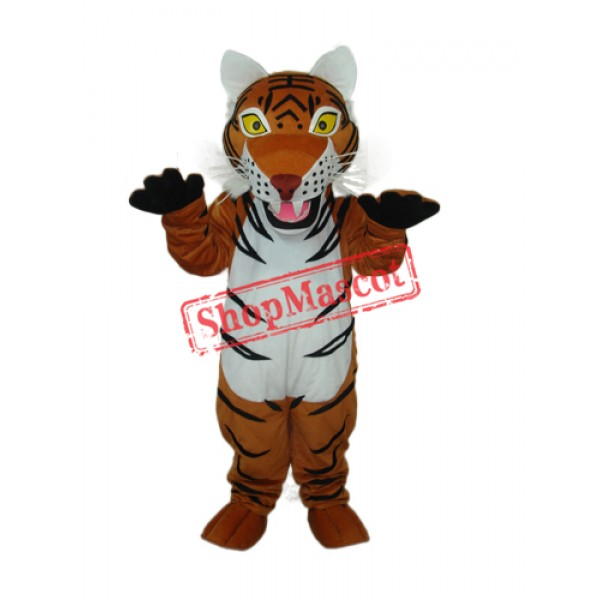 2nd Version Brown Tiger Mascot Adult Costume Free Shipping