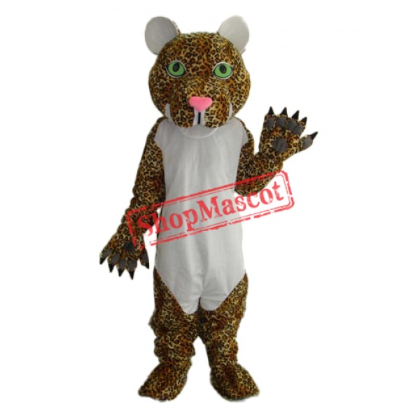 Cheetah Mascot Adult Costume Free Shipping