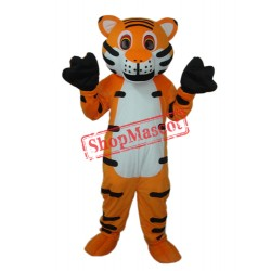 Orange Tiger Mascot Adult Costume Free Shipping