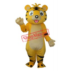 Small Tiger Mascot Adult Costume Free Shipping