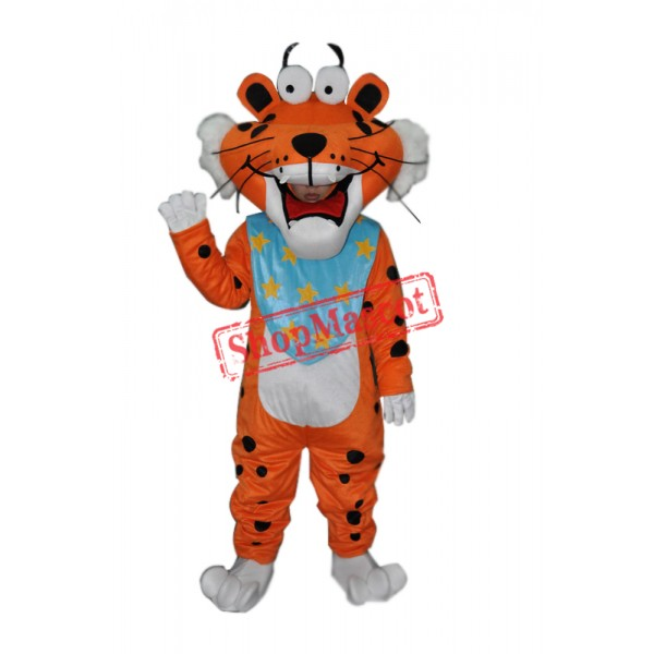 Spotted Funny Tiger Adult mascot costume Free Shipping