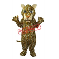 Young Leopard Mascot Adult Costume Free Shipping