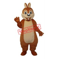 Chipmunk Mascot Adult Costume Free Shipping