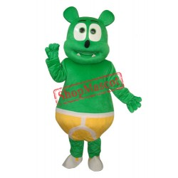 Green Bear Mascot Adult Costume Free Shipping