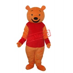 Leisure Winnie the Pooh Mascot Adult Costume Free Shipping