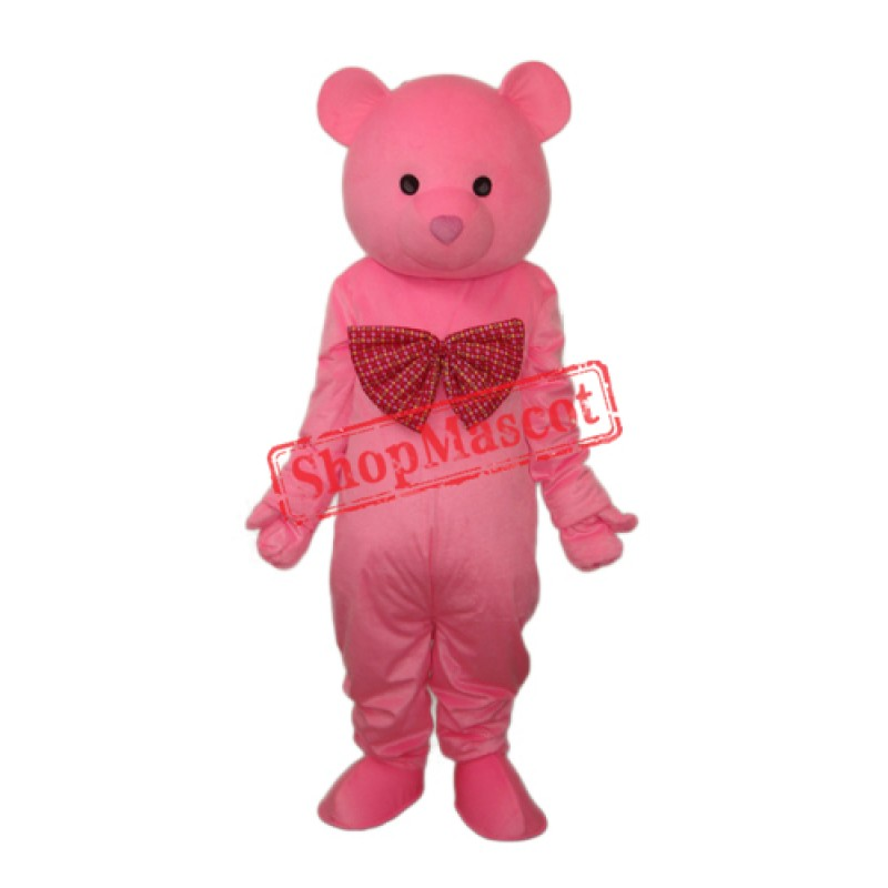 Mimi Bear Mascot Adult Costume Free Shipping