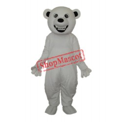 Polar Bear Canine Mascot Adult Costume Free Shipping
