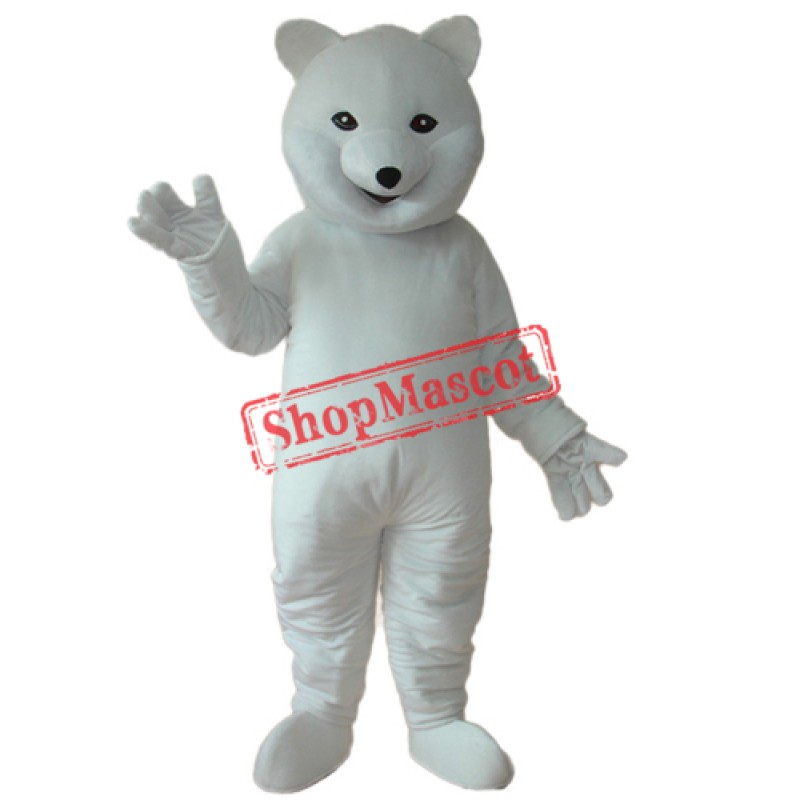 Polar Bear Mascot Adult Costume Free Shipping