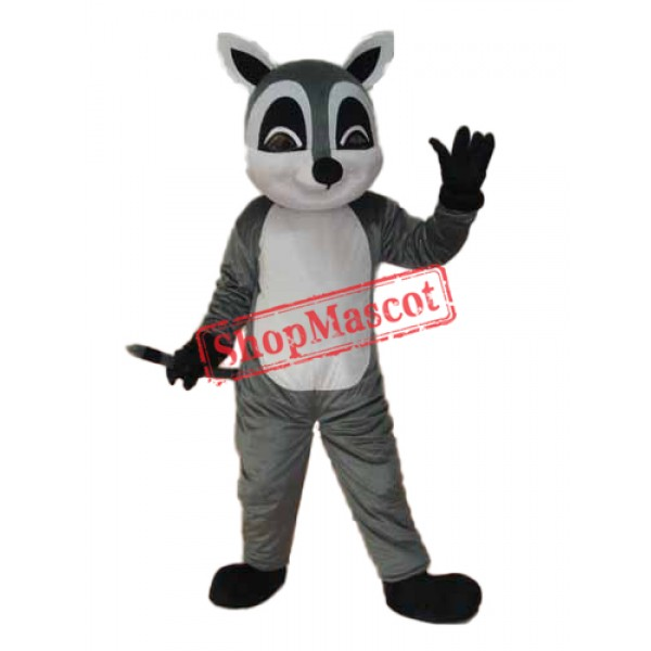 Raccoon Mascot Adult Costume Free Shipping