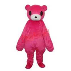 Red Bear Mascot Adult Costume Free Shipping