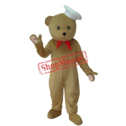 Chef Bear Mascot Adult Costume Free Shipping