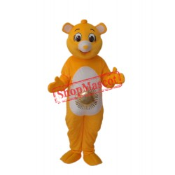 Sun Bear Mascot Adult Costume Free Shipping