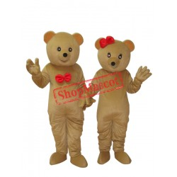 Teddy Bear Mascot Adult Costume Free Shipping