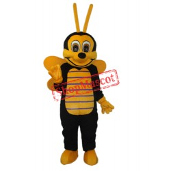2nd Version of The Bee Mascot Adult Costume Free Shipping