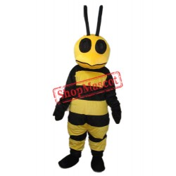 Strange Mouth Bee Mascot Adult Costume Free Shipping